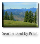 Search Methow Valley Land by Price
